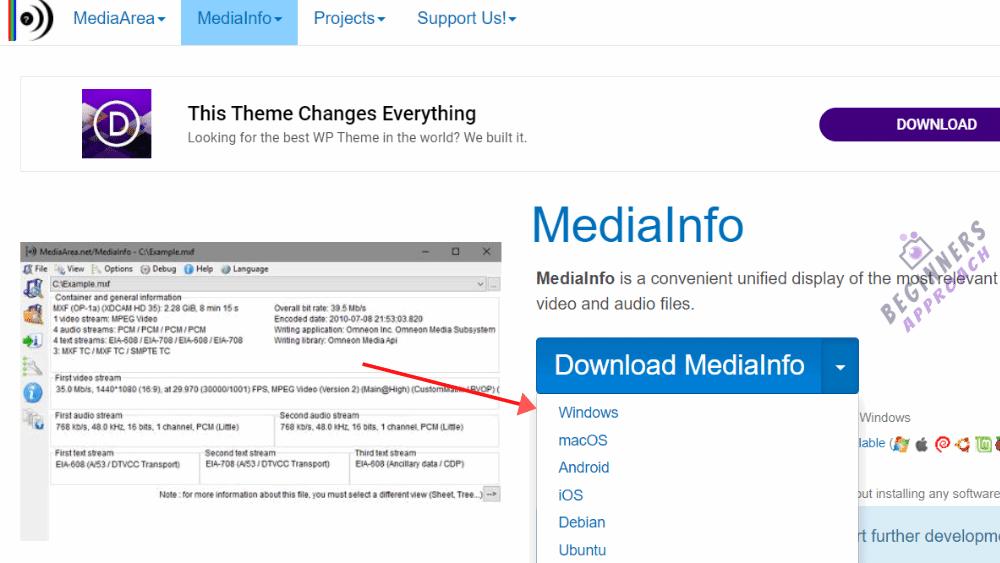 MediaInfo Download