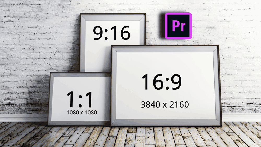 beginners approach aspect ratio resolution premiere pro