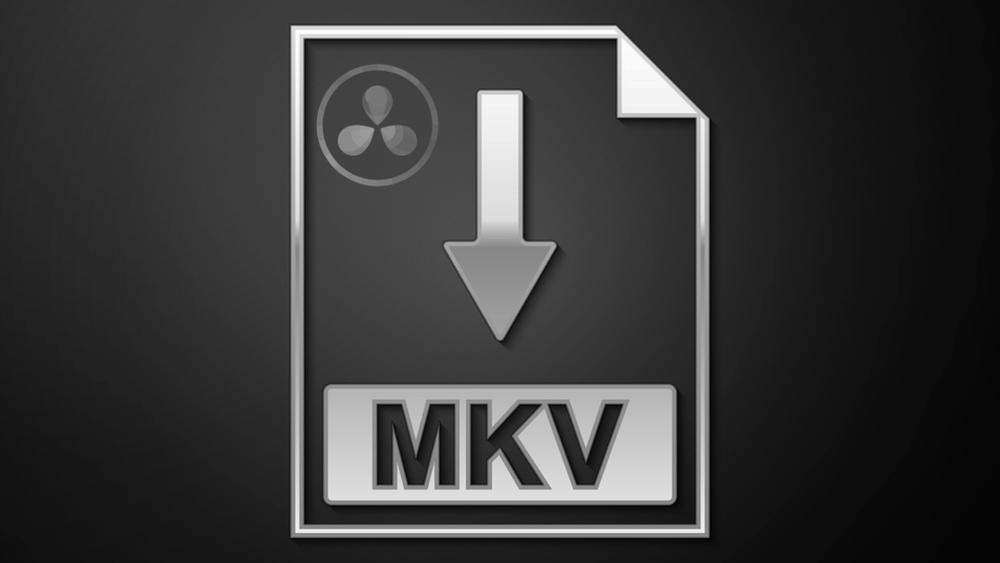 davinci resolve mkv import export beginners approach